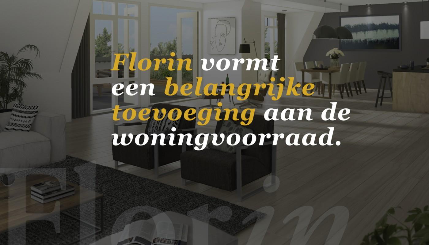 Florin vormt een belangrijke toevoeging aan de woningvoorraad.