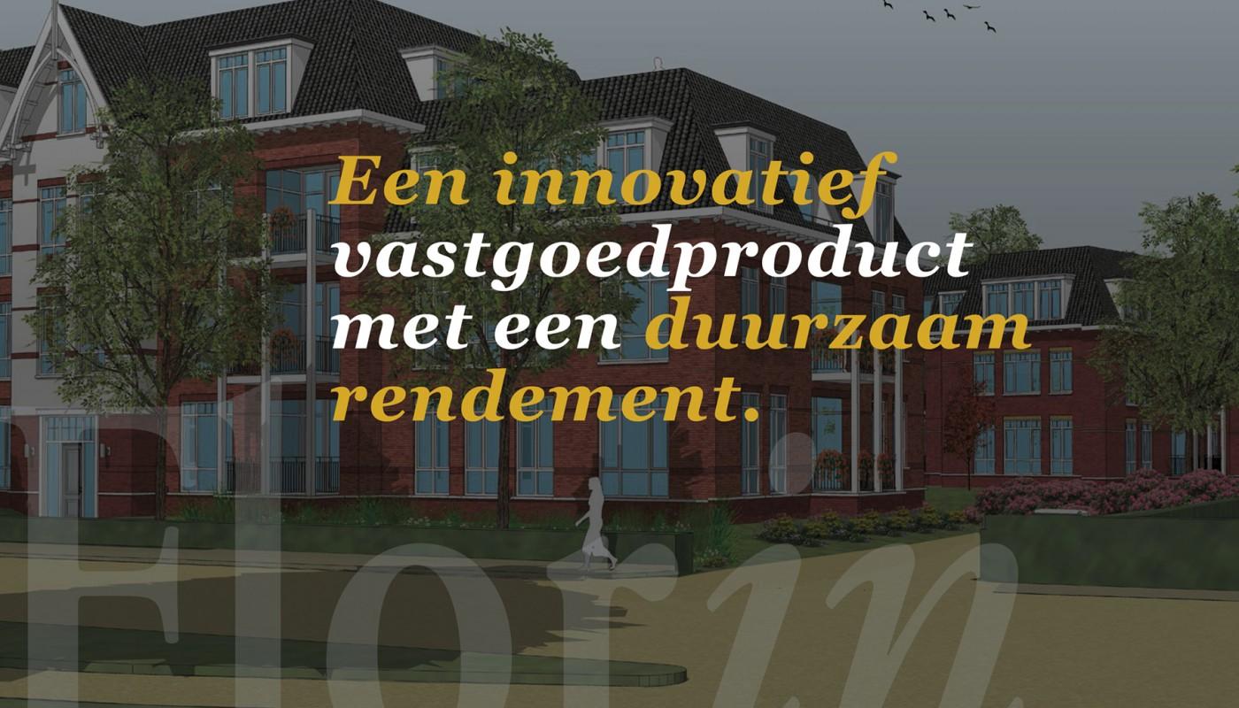 Een innovatief vastgoedconcept met een duurzaam rendement.